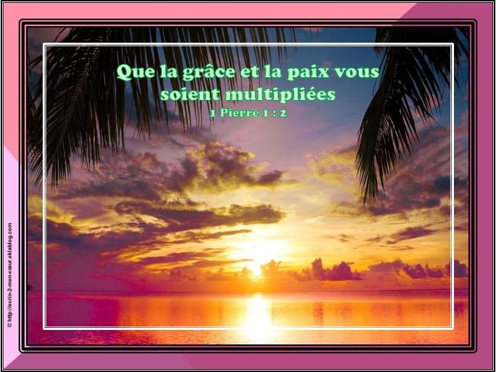 1 Pierre 1 : 2