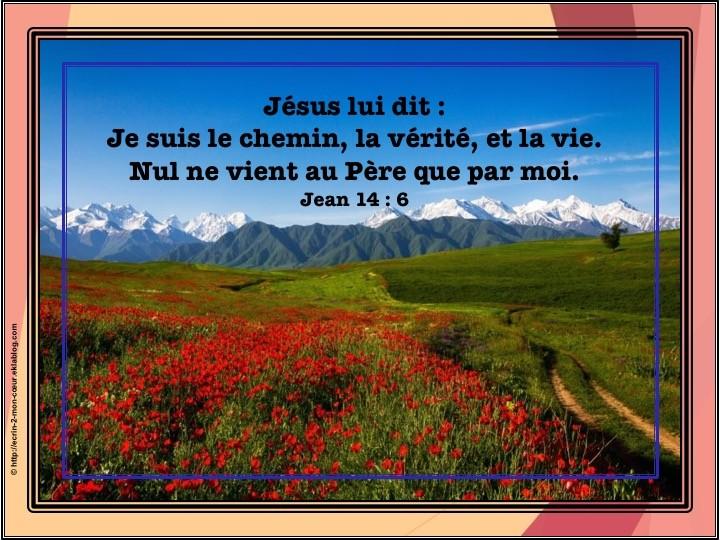 Jean 14 : 6