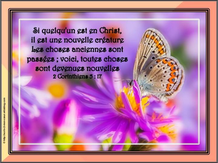 2 Corinthiens 5 : 17
